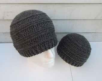 Baby and dad beanie  8868c844033a