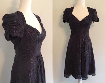 a637cb1d89859 1940's styled Betsey Johnson dress