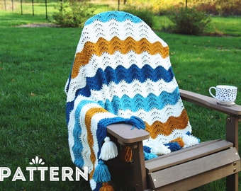 Savanna Crochet Blanket PDF Pattern