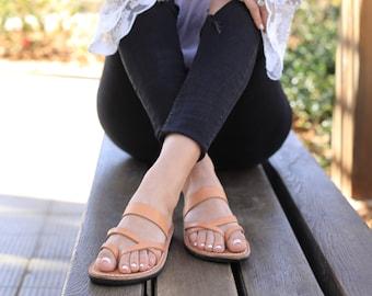d2fe0734da03 Natural Leather Women s Sandals