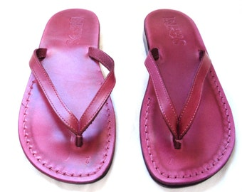 SALE New Leather Sandals MERMAID Women/'s Shoes Thongs Flip Flops Flats Slides Slippers Biblical Colored Footwear Designer
