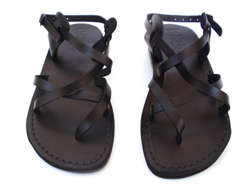 2eab767881a Black Strappy Summer Jesus Sandals