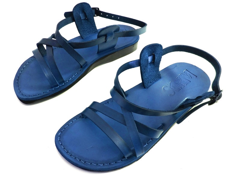 LONDON Summer Beach Gladiator Sandals Brown Greek style Sandals Jesus Roman Men/'s Sandals Handmade Leather Spartan Sandals for Men