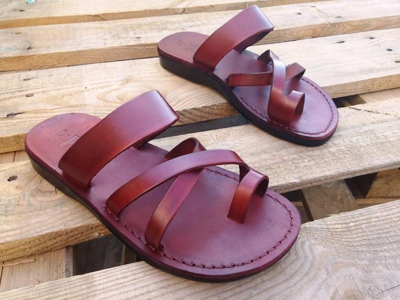 Classic Flip ThongRoman Greek Grecian Leather Spartan WomenSummer Flat For SandalsGladiator FlopsJesus Style Ladies WIE2YD9H