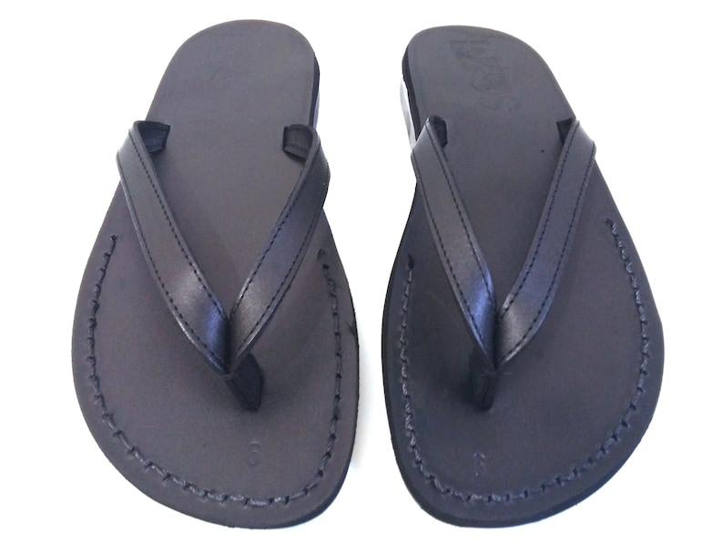 675c86c9a7d7 Brown Genuine Leather Sandals for Men and Women Shoes