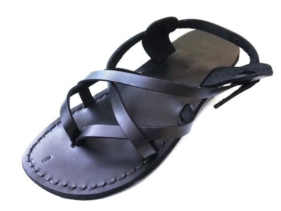 f3d095dd60d90 Handmade Leather Roman Greek style Spartan Sandals for Women