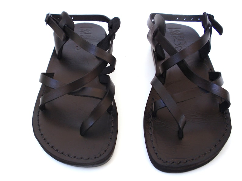 cff0fb1ec Leather Flip Flops Hermes Flat Summer Sandals Greek style