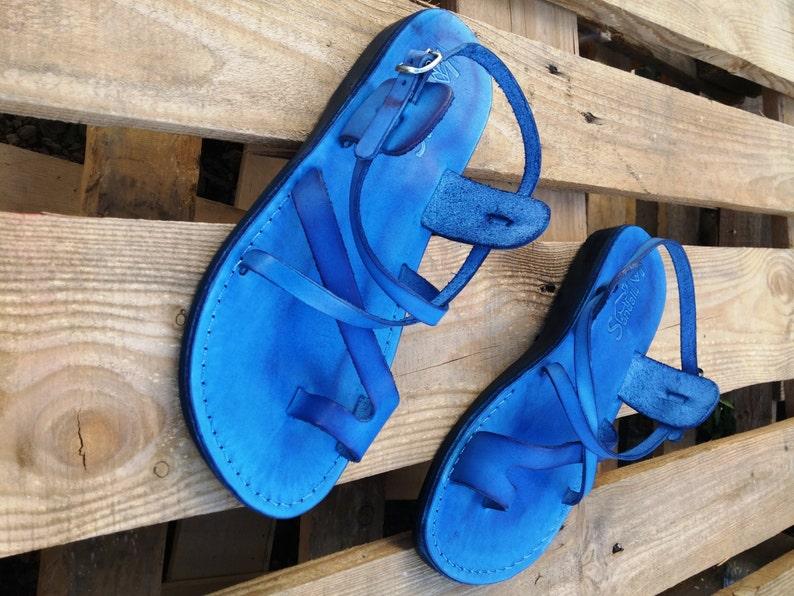 2aa6c794b07 Greek style Leather Sandals Women and Men Flip Flops Sandals