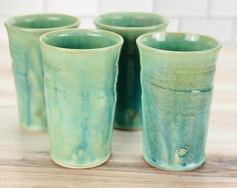 Pilsner Tumbler ***Holiday Special *** (Green Glaze)