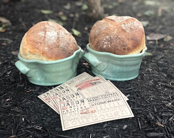 Bread Baker (Green Glaze + 5 recipe included)