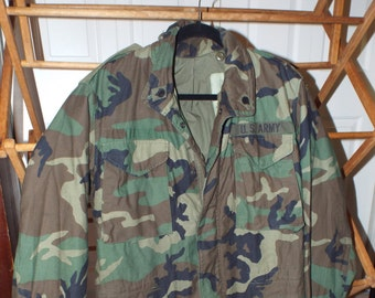 d550f89bad104 80s Winter Army Jacket, Heavy Duty Army Coat, Vintage Army Jacket