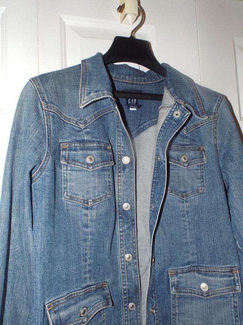 90s Gap Jean Jacket Women/'s Jean Jacket