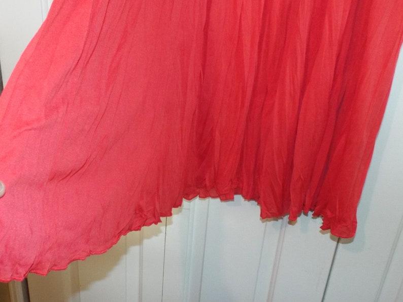 Hot Pink Maxi Skirt Summer Long Skirt,