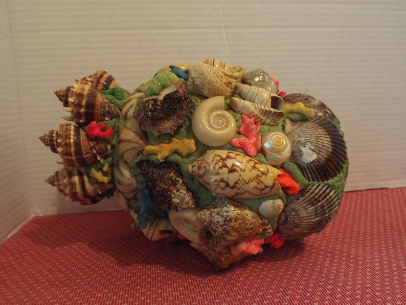 Arts and Crafts Vase Handmade Vase Shell Vase