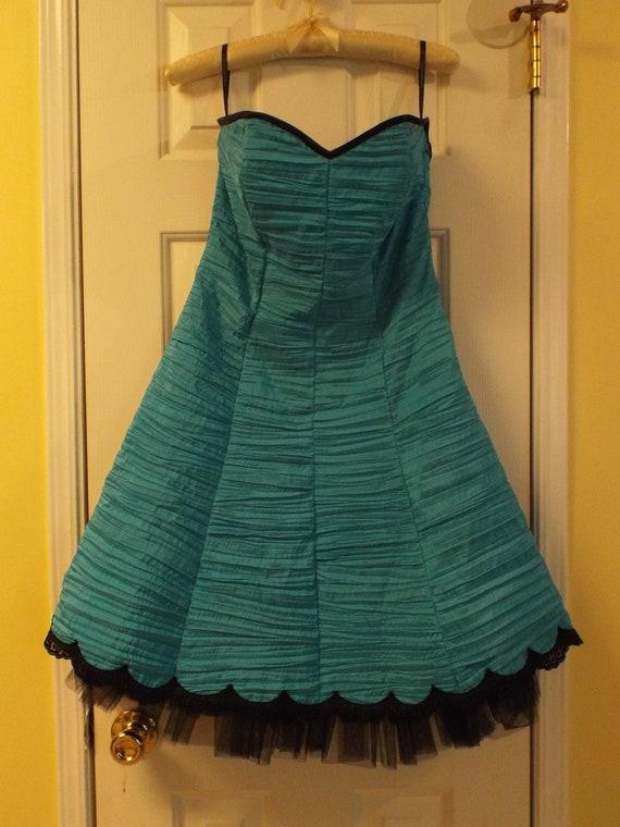 Gunne Sax Dress, Rockabilly Dress, Vintage Gunne … - image 2