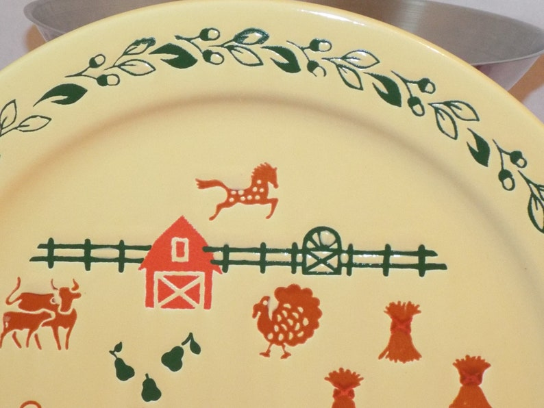 German Plate by Waechtersbach Country Serving Plate