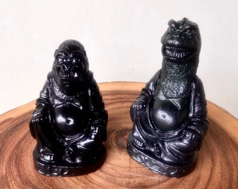 King Kong  & Godzilla Amusing Villain Buddhas
