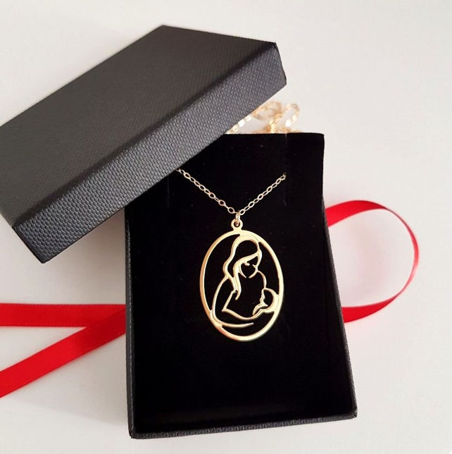 Gift For First Time Mom Birthday New Necklace Etsy