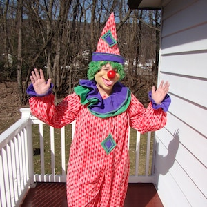 NEW custom made clown jacket with tails Entertainers coat