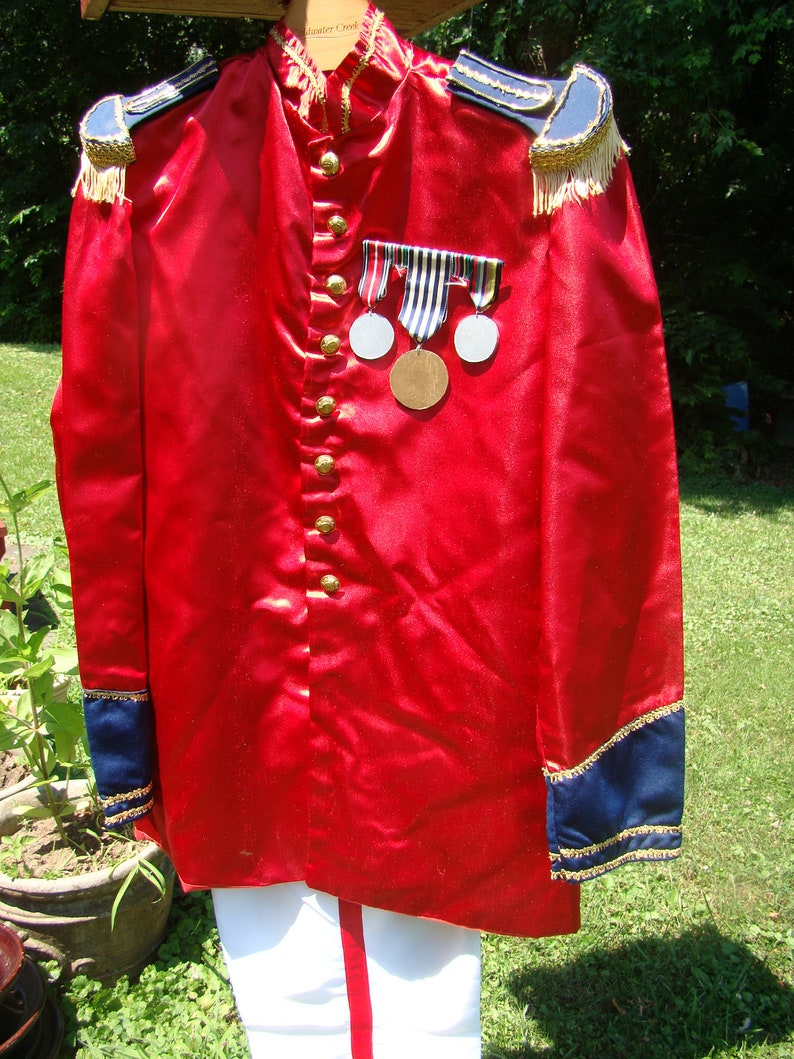 Prince Charming or Toy Soldier Costume Adult Theater Halloween Masquerade Parade