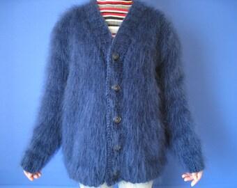 Mohair Sweater Alpaca sweater Mohair sweater women Weightlessness sweater Women\u2019s knitwear Mohair blue women/'s sweater Blue sweater
