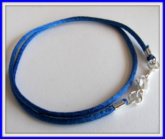 4mm Rubber Cord 10 yards ROYAL BLUE Great for Bracelets and Necklaces