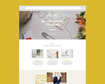 squarespace template only diy website with graphics the modern day creative