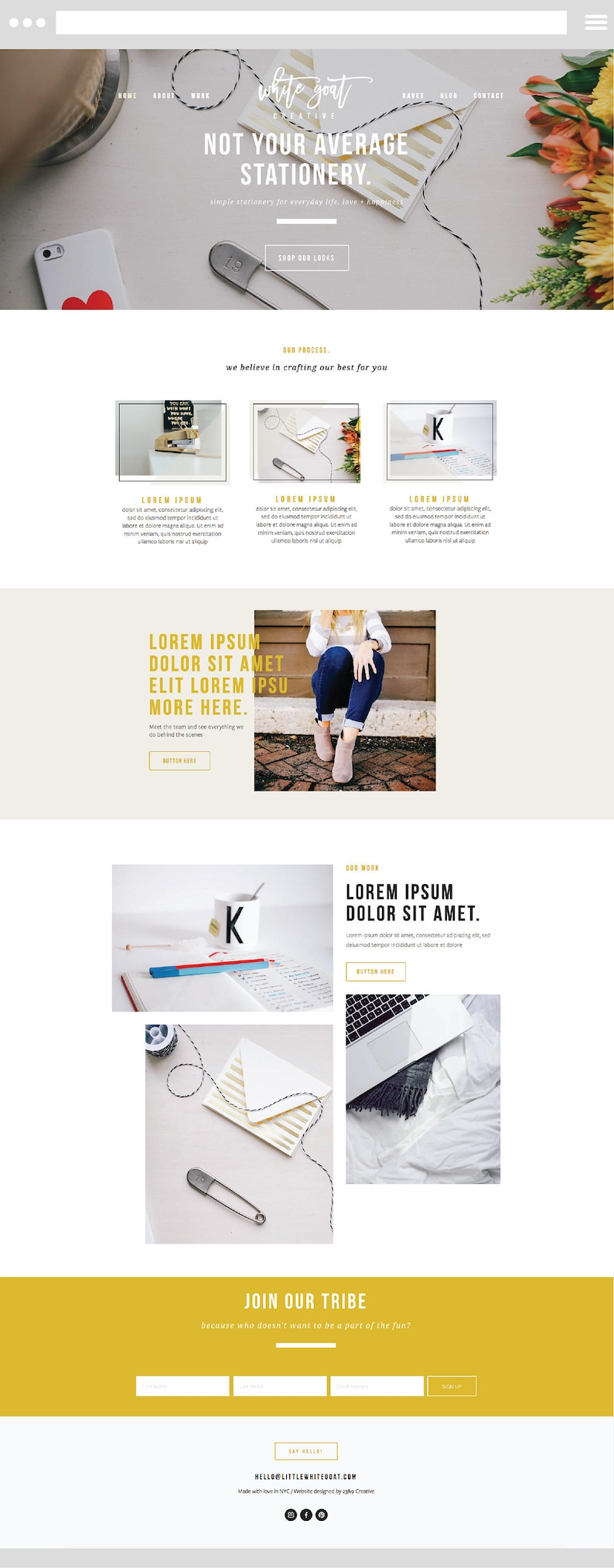 5904bba37b2c5 SQUARESPACE WEBSITE TEMPLATE with Customizable Graphics (no extra  training): The Modern Day Creative