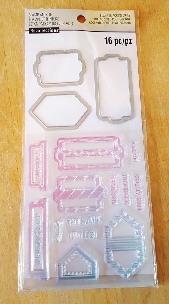 Dossier Dossier Dossier Mount tampons acryliques et Framelit meurt ensemble des souvenirs 92132a