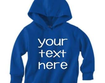 Custom Toddler Hoodie, Personalized sweatshirt