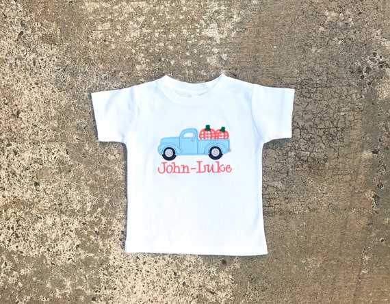 e4b15ddf1715 Little boys fall clothes Boys Pumpkin Shirt baby boy t