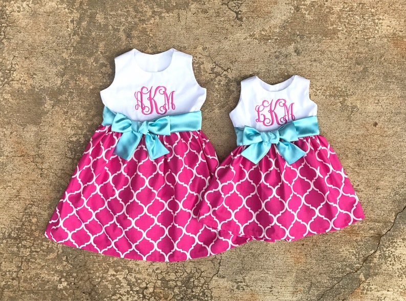 3b1321fc0f6b Matching Sister Dresses big sister little sister outfits | Etsy