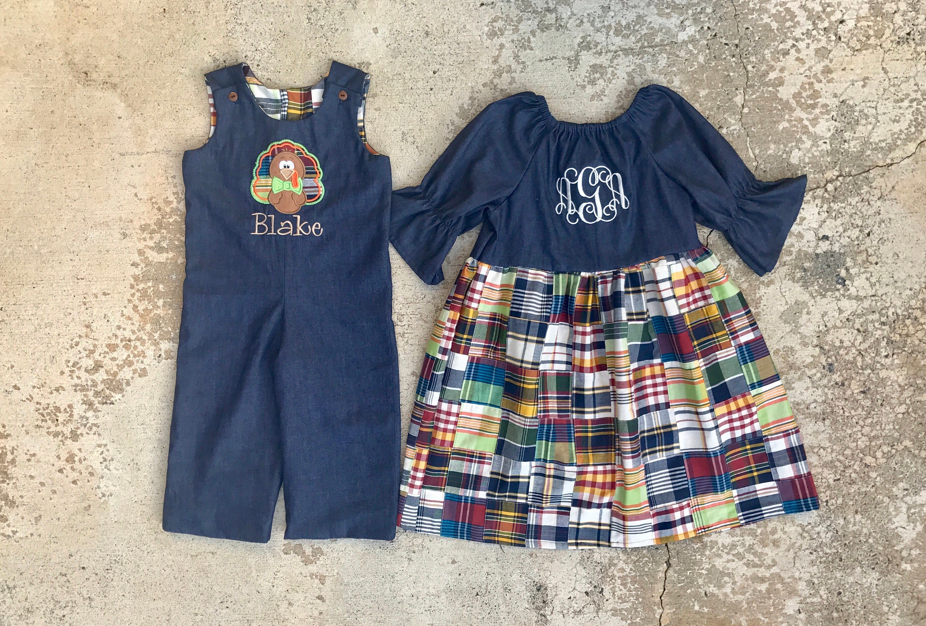 c8b35dc936cf Matching sibling outfits family thanksgiving outfits fall | Etsy