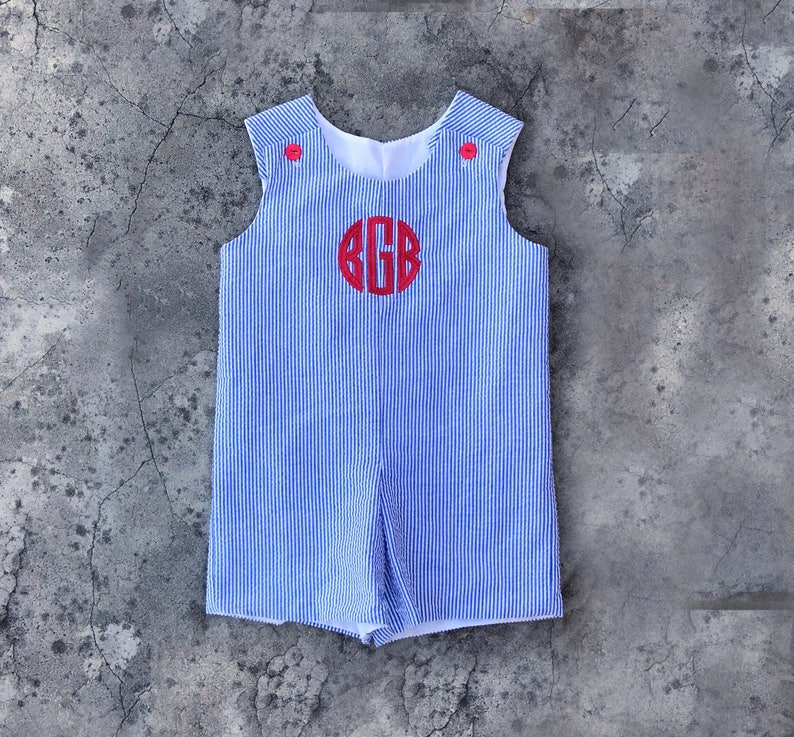 a48f9ebba Baby clothes baby boy outfit monogram Navy jon jon red