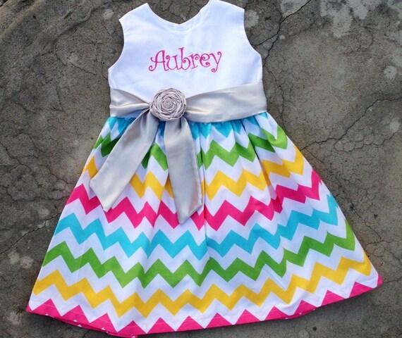 Personalize Girl/'s Birthday Dress-Girl/'s Easter Dress-Girl/'s Christmas Dress-Monogram Girl Dress-First Birthday Dress-Light Blue Girl Dress
