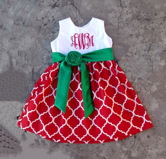 image 0 - Girls Christmas Dress Baby Girl Christmas Outfits Red And Etsy