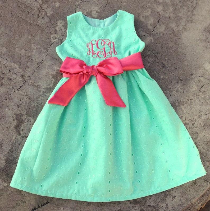 87a980b513a734 Monogram meisje van de Baby kleding Personalized Baby meisjes