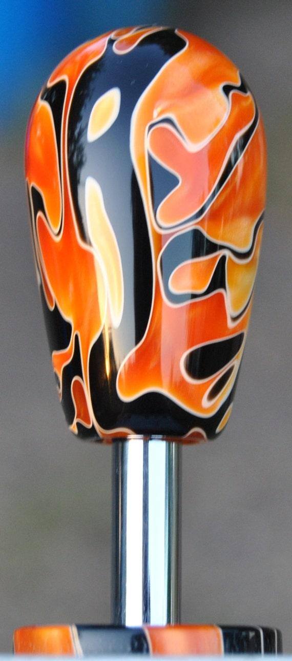 Custom Hand Made Arcade Stick Joystick Sanwa Acrylic Bat Top