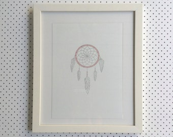 Dream Catcher - Letterpress Poster