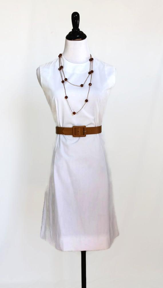 Vintage White 50s Dress