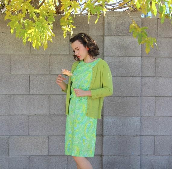 1960s Mod Harry S. Epstein Dress