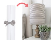 Adhesive Pressure Sensitive Styrene Sheet for Making DIY Lampshades - In a Pre-cut Length