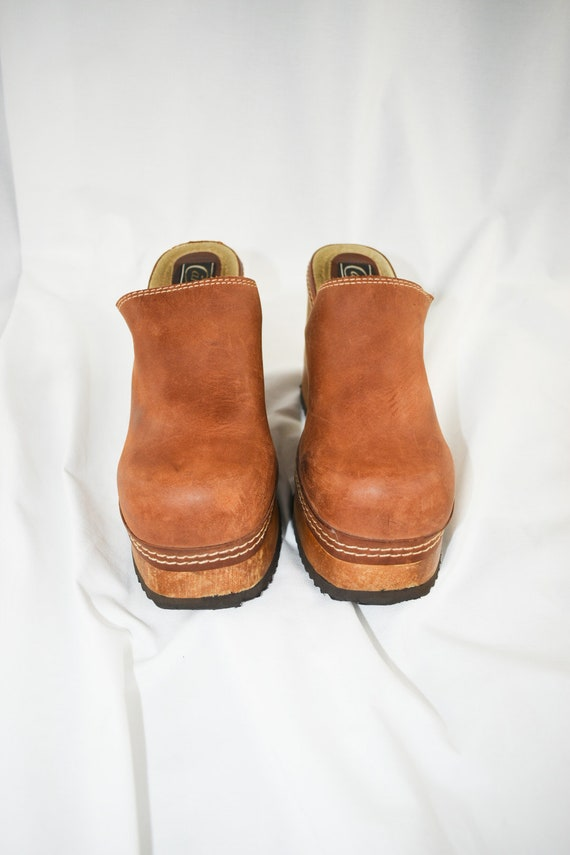 90's Candies Platform Chunky Mules / Block Heels … - image 4