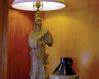 Oriental Figuring Lamp