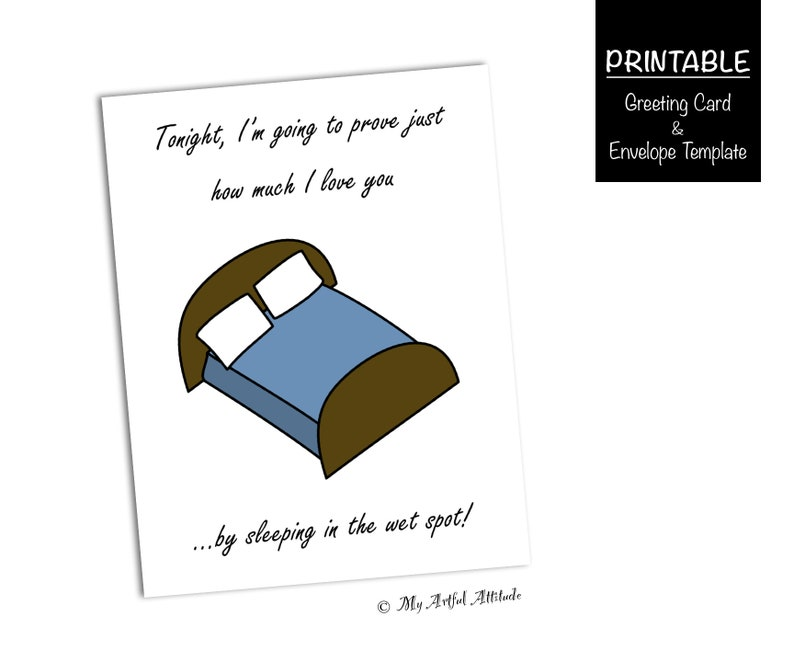 Naughty Valentines Card For Him Or Her Printable Boyfriend  Etsy-3572