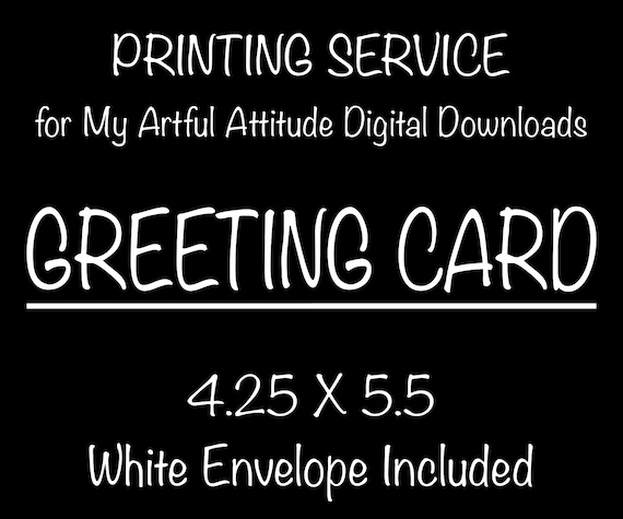 Printing service add on for greeting cards print and ship m4hsunfo