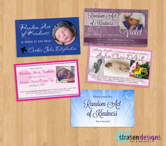 image regarding Random Acts of Kindness Cards Printable known as Custom made Random Act of Kindness card Printable