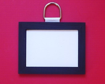 Single ACEO Wall Safety Frame 2.5in x 3.5in Aperture and 3.5in x 4.5in X 4mm Overall