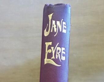 1898 - Victorian Jane Eyre - Hardback Vintage Book - Charlotte Bronte