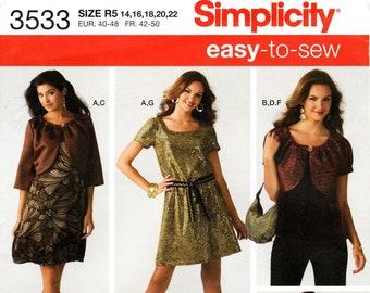 Butterick Sewing Pattern 5363 Simplicity Sewing Pattern 3533